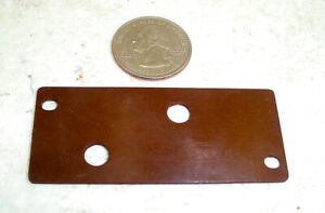 """Lot of 24 Bakelite Sheets A pprox 2.688/"""" by 1.14/"""" by .049/"""""""