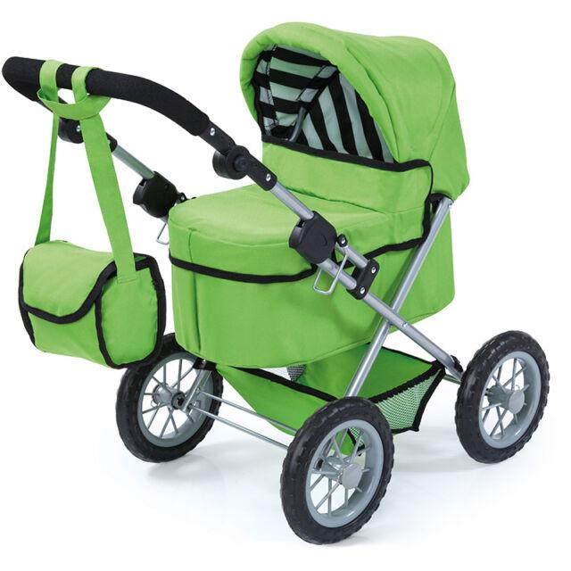 Babypuppen & Zubehör Bayer Design Puppenwagen Trendy grün NEU