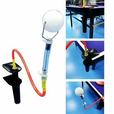 Table Tennis Training Aid Robot Ping Pong Ball Machine Trainer for Stroking