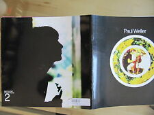 """Tour Programm Paul Weller """"Match day programme 2"""""""