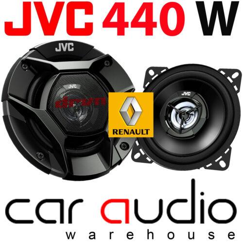 Renault Twingo 1998-2000 Van JVC 10cm 440 Watts 2 Way Front Dash Car Speakers