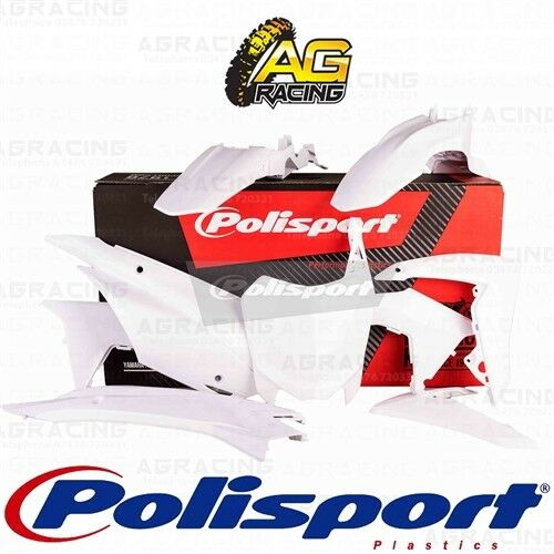 Polisport Plastics Box Kit For Honda CRF 110F White Kit 2013-2018