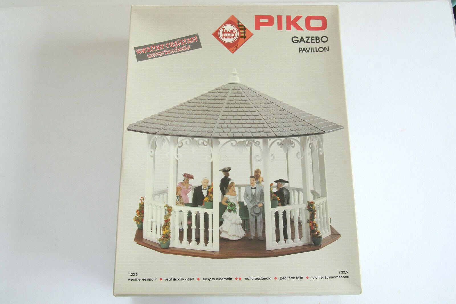 G Scale, PIKO LGB  62012 Pavillion, originele doos en niet-gemonteerde weerBesteendige Nee.