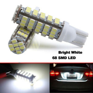 2pcs-Super-White-T10-921-194-RV-Trailer-68-SMD-LED-Backup-Reverse-Lights-Bulbs