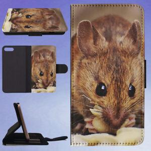 ANIMAL-BLUR-MOUSE-RAT-FLIP-WALLET-CASE-FOR-APPLE-IPHONE-PHONES