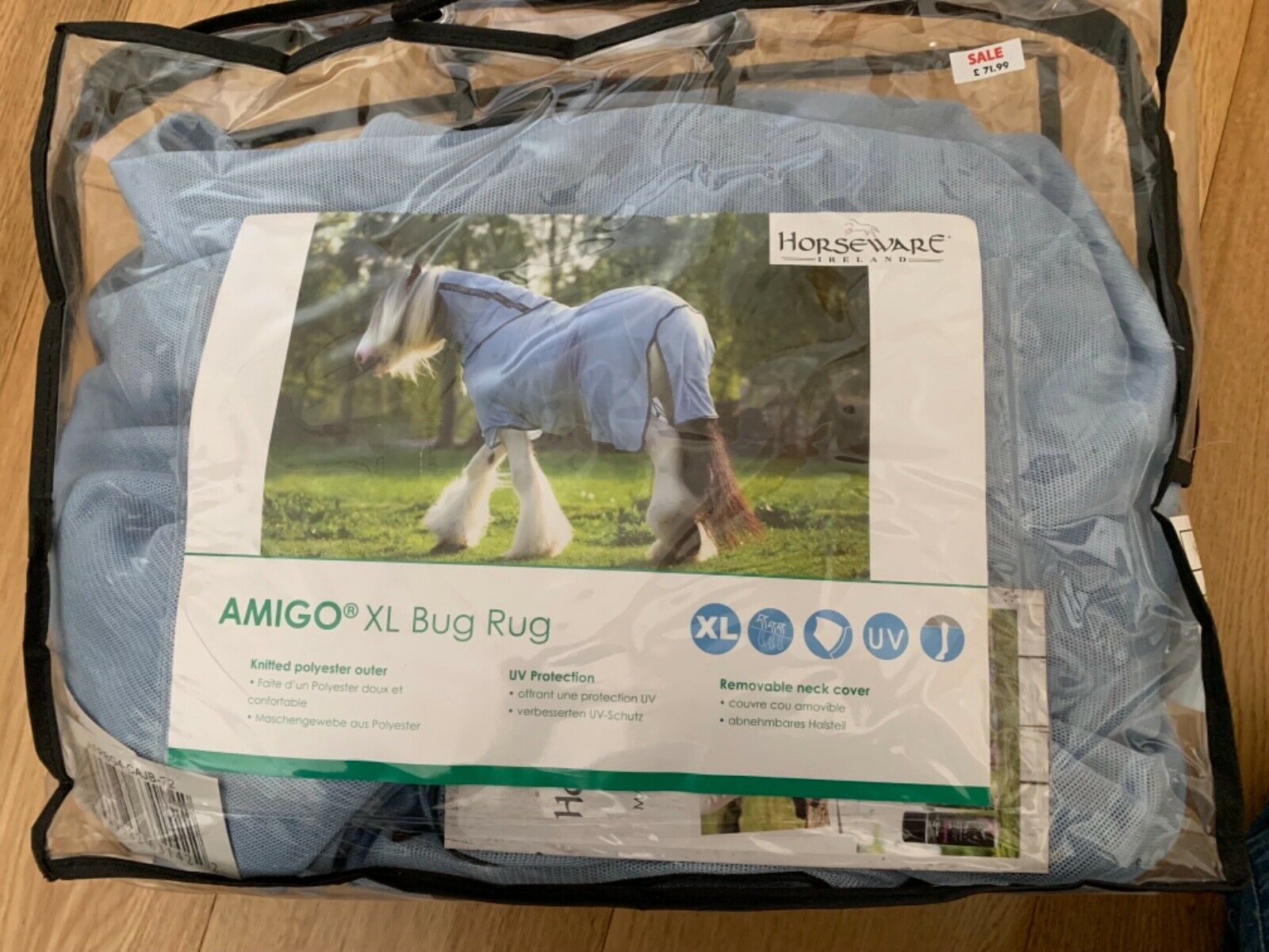 Horseware Amigo XL Fly Rug Bug Rug 5ft 9 BNWT RRP