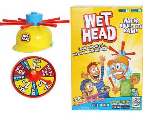 Wet Head eau Roulette Jeu-Enfants Amis Famille Jouet Play Set 4 ans et