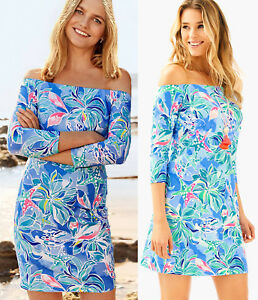 e10763c3755852 Image is loading Lilly-Pulitzer-Laurana-Bennet-Blue-Celestial-Seas-Off-
