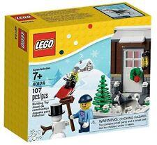 NIB Lego Set # 40124 Seasonal Winter Fun -Mint Sealed Box Husky dog mini figure