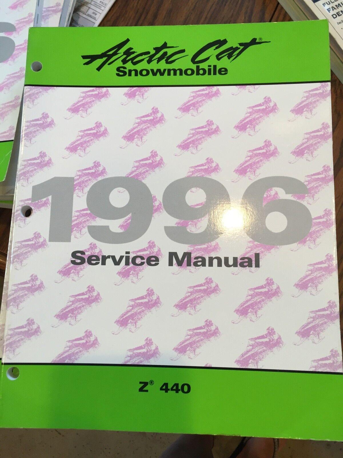 1996 Arctic Cat Z440 Service Manual PN  2255-308
