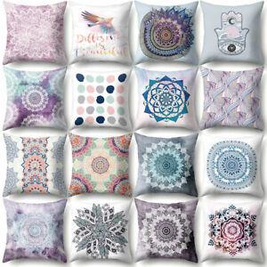Am-KF-Mandala-Bird-Dots-Throw-Pillow-Case-Cushion-Cover-Sofa-Bed-Car-Cafe-Deco