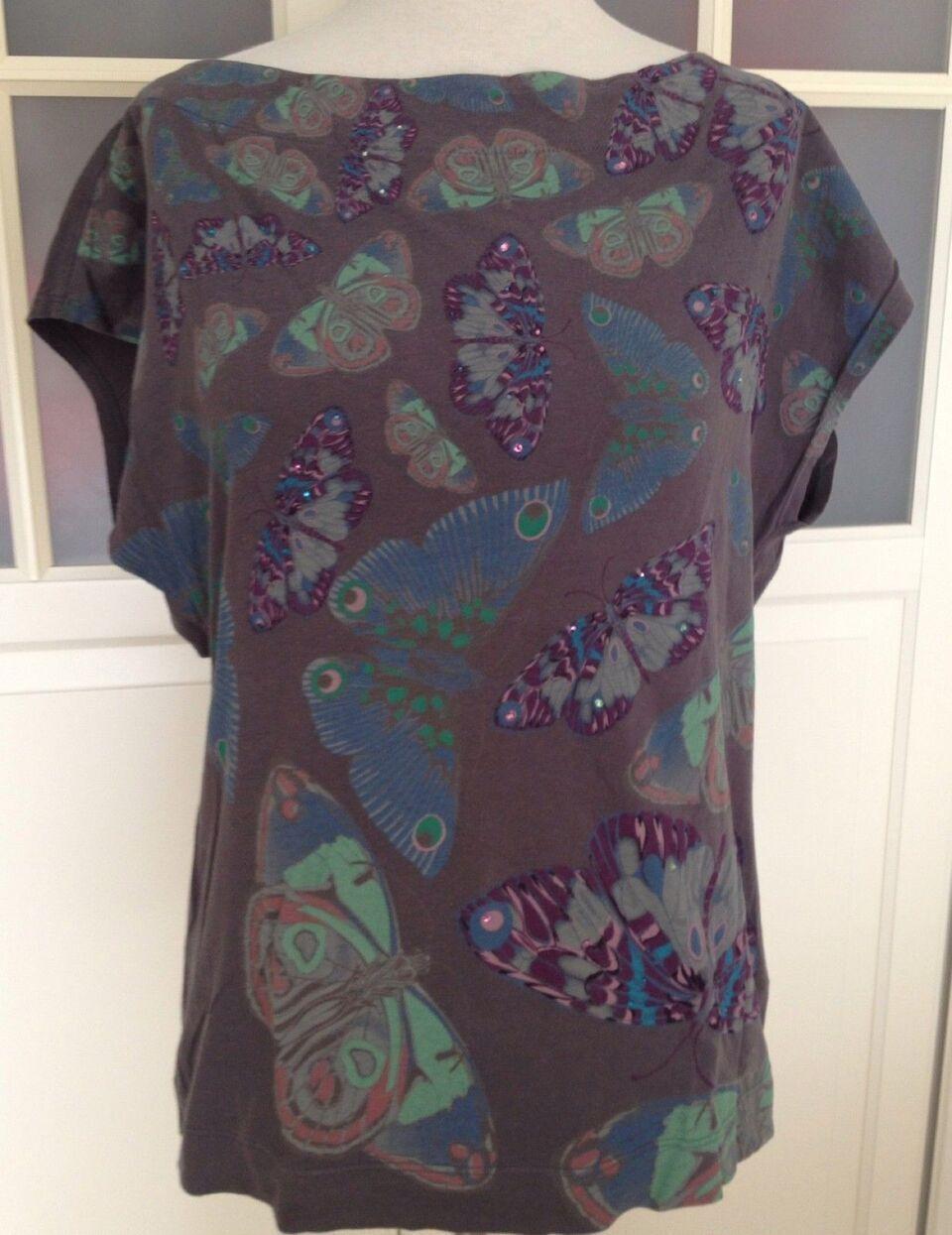 Matthew Williamson for H&M T-Shirt Shirt Butterflies Top Gr S