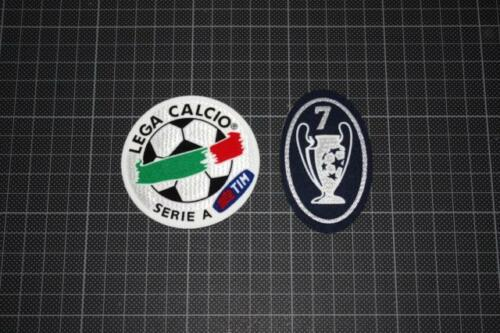 ITALIAN LEAGUE SERIE A and 7 TIMES CHAMPIONS LEAGUE WINNERS BADGES 20072008