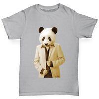 Twisted Envy Boy's Mr Panda 100% Cotton T-Shirt