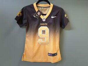 Girls Sm Drew Brees Footbal Jersey All Stitched Numbers Letters New Ebay