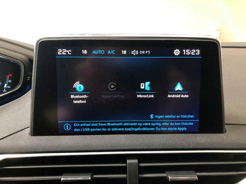 tilslut android telefon til bil