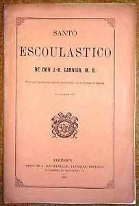 Santo-Escoulastico-Peco-qu-039-a-gagna-no-medaio-de-brounze-ei-jue-flourau-de-Bezies