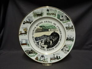 Collectable-South-Wales-Area-Mining-Plate-Betws-New-Mine