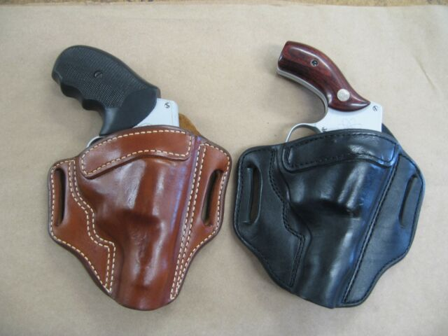 Azula Leather OWB 2 Slot Pancake Belt Holster CCW For   Choose Color & Gun  - 2