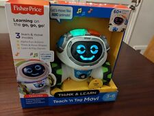 Fisher Price Drn78 Think Learn Teach N Tag Movi For Sale Online Ebay