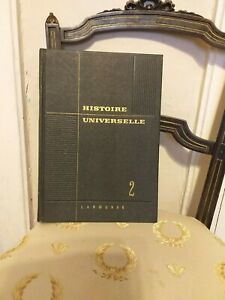 Marcel-Dunan-Histoire-Universelle-tome-2-Larousse-1960-TBE