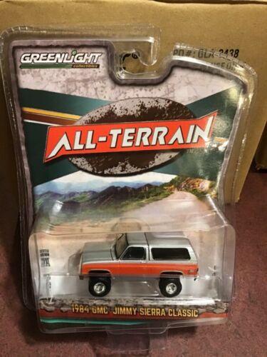 1984 GMC Jimmy Lifted. Greenlight All-Terrain series 10