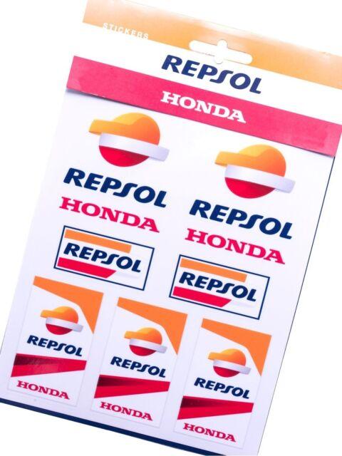Honda Repsol Moto GP Team Sticker Aufkleber Offiziell 2017