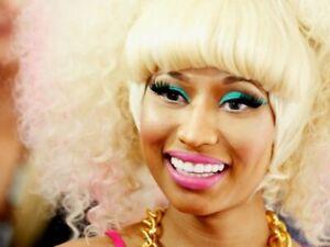 Nicki-Minaj-Rapper-Singer-TV-star-Blonde-wig-Music-Wall-Print-POSTER-FR