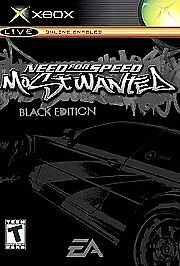 Need For Speed Most Wanted Black Edition Microsoft Xbox 2005