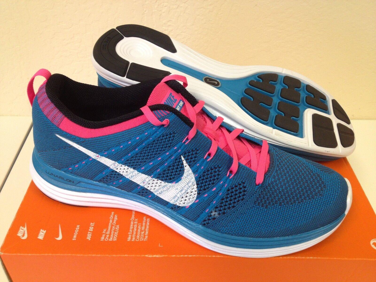 Nike Flyknit One+ (554887 414) size 12.5, Retro, Jordan, Cross Training, Running
