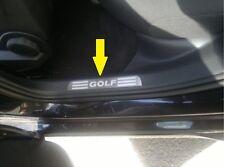 4PC Steel Door sill scuff plate For VW GOLF 7 MK7 VII 5door 2013 2014 2015 2016