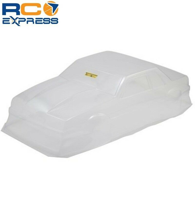 JConcepts 1991 Ford Mustang Fox Clear Body 10.75 & 13 inch WB JCO0362