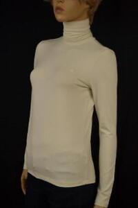 Lauren Ralph Lauren Cream Rayon Turtleneck/ RLL Sweater XLarge NWT