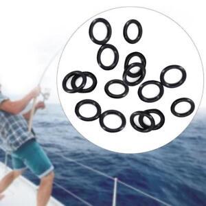 100-PZ-Pesca-della-Carpa-Bite-Alarm-Gomma-O-RING-Rod-Rest-Bank-Bastoncini