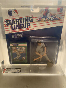 Cal Ripken Jr. (Baltimore Orioles) 1989 MLB Starting Lineup AFA 85 TRIPLE SUBS