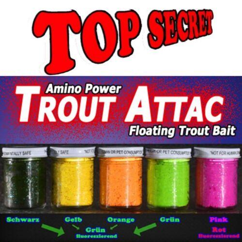 Top Secret Trout Attac Forellenteig Knoblauch pink rot fluo