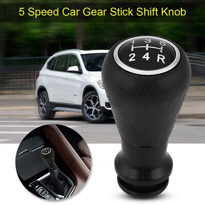 Qiilu Shifter Gear Knob 5 Speed Gear Stick Shift Knob Head for Peu-geot 106 107 205 206 207 405 Cit-Roen C1 C3 C4