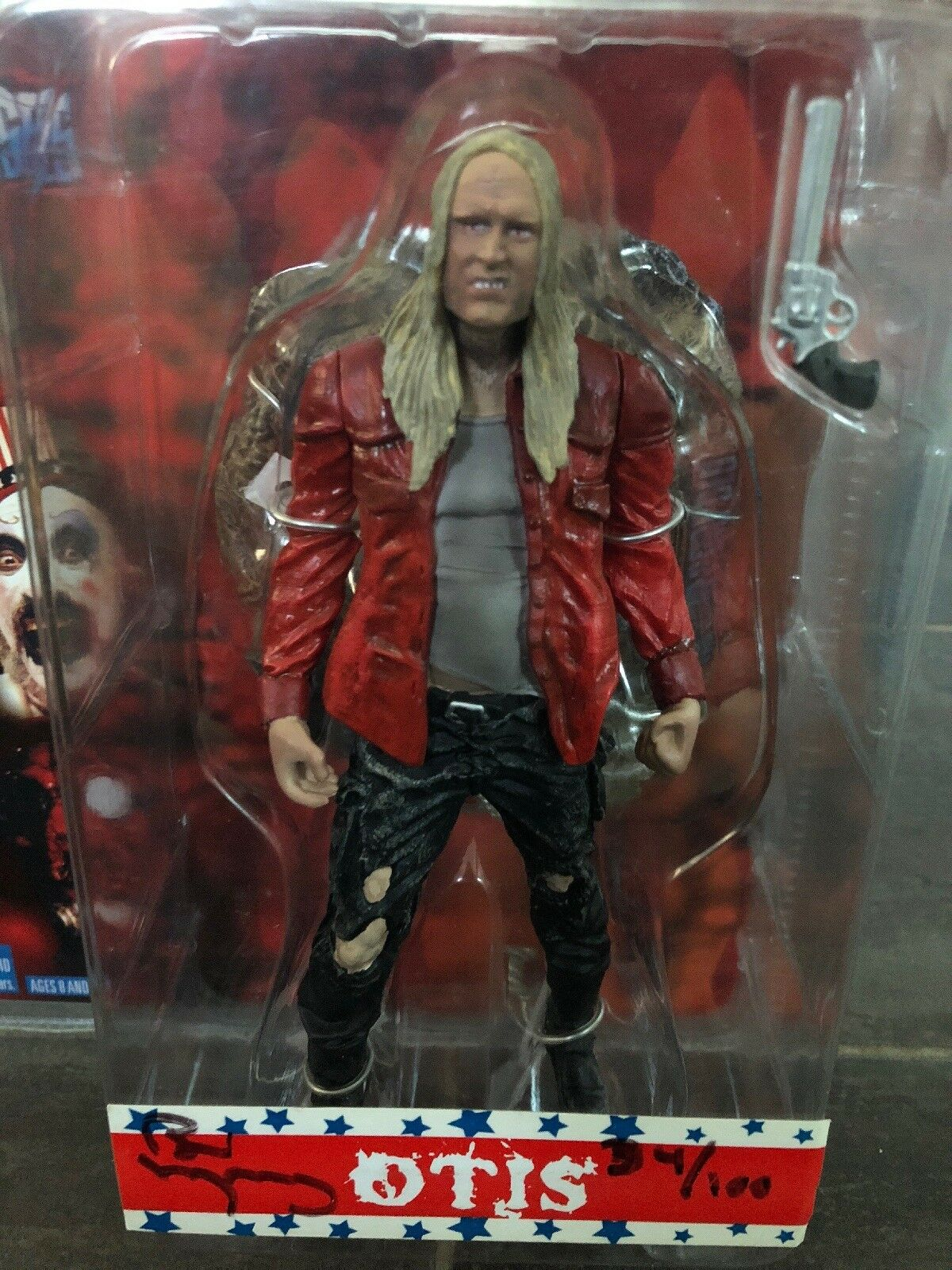 SEG House of 1000 Corpses Rob Zombie Otis Figure 2003 Signed by Bill Moseley  34