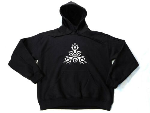 WARM HOODIES All Seeing Eye HANDMADE Cool Unusual Occult Illuminati Tribal Eye