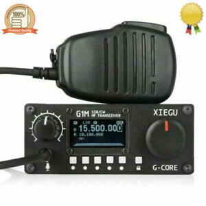 Xiegu G1m Qrp Hf Transceiver 0 5 30mhz Sdr Ssb Cw Am Amateur Ham Radio X Sz Ebay