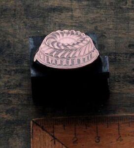 BACKFORM-Kupferdruckstock-Galvano-Druckstock-Klischee-Jugendstil-Kuchenform