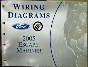 details about 2005 ford mercury electrical wiring diagram service manual escape mariner 2004 kia optima wiring diagram 2005 mercury mariner wiring diagrams #13