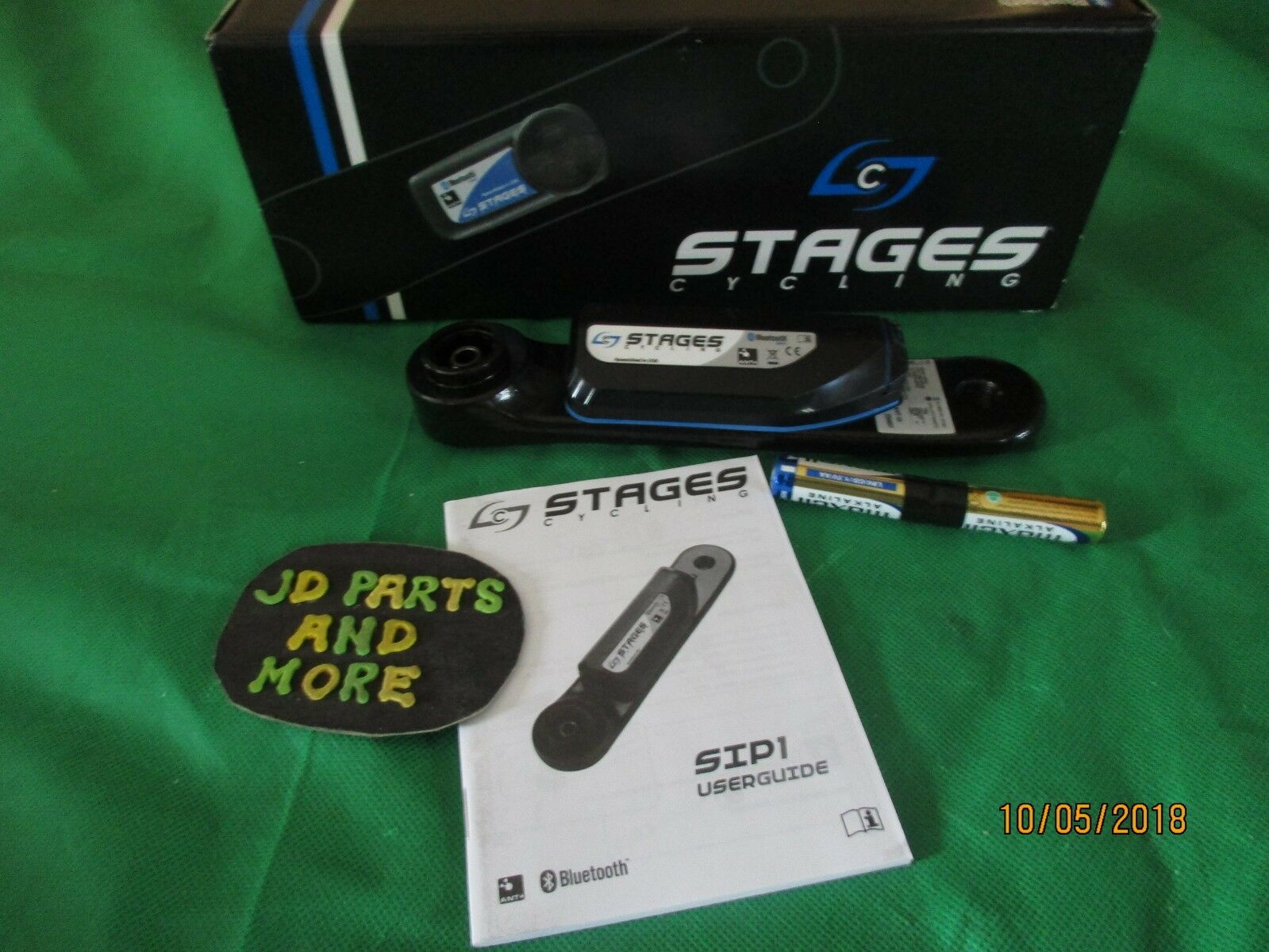 NEW GENUINE STAGES POWER METER FOR SC SERIES 971-0101   ANT +,blueETOOTH SMART RE