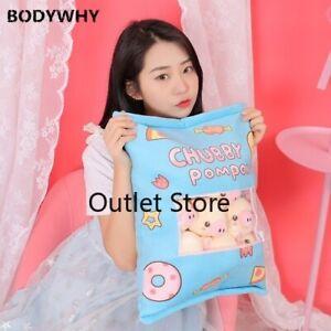 Pillow-Stuffed-Pink-Piggy-Head-Balls-A-Bag-of-Plushie-Animals-Plush-Pillow-Gift