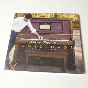 NEW Solo Piano CD jazz Soloist Music Joshua Zimmerman Crossroads Music 2017 MI