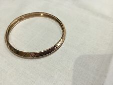 House of Harlow 1960 New & Genuine Rose Gold Plated Bangle With Logo
