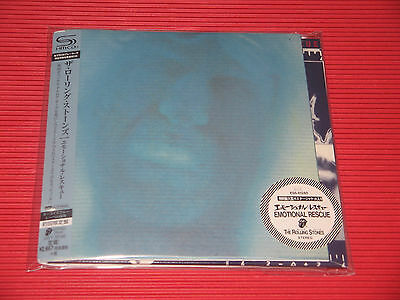 2014 THE ROLLING STONES EMOTIONAL RESCUE  HR CUTTING  JAPAN MINI LP SHM CD