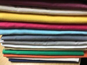 Details about FIRE RETARDANT COTTON CASEMENT FABRIC Drapes Curtains  Cushions Craft Ceilings