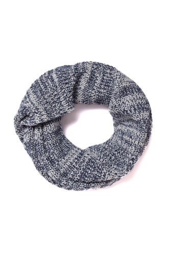 Jack /& Jones Originals Knit Tube Scarf Mens Knitted Jacrib