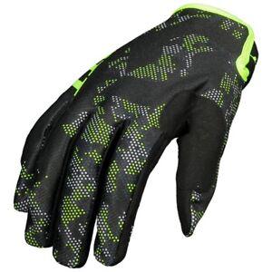 Guanto Cross Enduro Scott 350 Race Glove colore Nero Giallo Fluo Taglia XXL